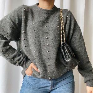 PRIMARK Metal-Ball Detail Sweater